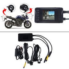 Motorcycle  Camera  Motorbike Front & Back HD Dash Cam Video DVR Camcorder