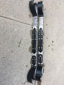 Pursuit Skate Roller Skis With NNN Mounting Plate And Fenders