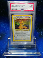 WOW! PSA POKEMON HOLO Dragonite Fossil 4/62 Pokémon NO Charizard NO Glurak
