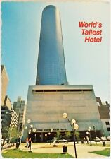 World's Tallest Hotel Peachtree Plaza Atlanta Georgia Postcard