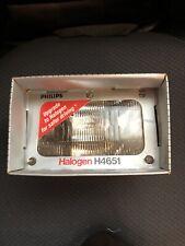 New Philips H4651 Halogen Headlamp C-6 12V 50W High Beam fits 1979-1986 Mustang