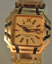 LIMITED TO 22 - New Xoskeleton Intercontinental Automatic Rose Gold Tone Watch