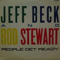 "Jeff Beck & Rod Stewart(7"" Vinyl P/S)People Get Ready-Epic-A 6387-UK-Ex+/NM"