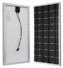 Excellent Renogy Monocrystalline photovoltaic Solar Panel 100 Watts 12 Volts