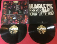 Humble Pie ‎– Performance: Rockin' The Fillmore  1971:A&M SP 3506 Monarch *VG+