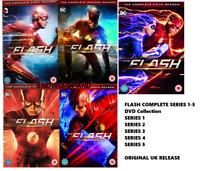 THE FLASH COMPLETE SERIES 1-5 DVD Box Set Season 1 2 3 4 5 DC COMICS NEW R2 x
