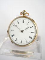 CYLINDE 4 RUBIS, žepna ura - pocket watch, Schlüssel Taschenuhr #19-05.02