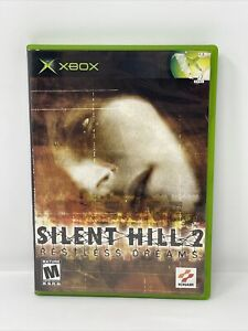 Silent Hill 2 Restless Dreams (Microsoft Xbox, 2003) Complete Game CIB Tested