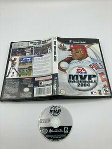 Nintendo GameCube NGC Disc Case No Manual Tested MVP Baseball 2004