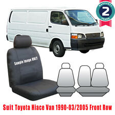 New Toyota Hiace LWB Van Custom Made Car Seat Cover 1990-2005 Front Row