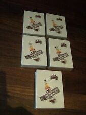 More details for 5 x new packs of jim beam music playing cards
