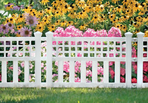 Suncast GVF24 Resin Grand View Fence 20.5 H x 24 W x 1.5 D in. (Pack of 10)