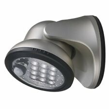 Lite It by Fulcrum 20034-101 12-LED Wireless Motion Sensor Porch Light, Silver