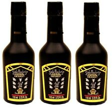 3x SIETE MACHOS COLOGNE LOCION AUTENTICO URANIA MEXICO 7 MALES 3.72 Oz / 110 mL
