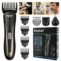 Kemei 1419 Cordless Hair Clippers Trimmer Shaver Clipper Cutting Beard Barber US