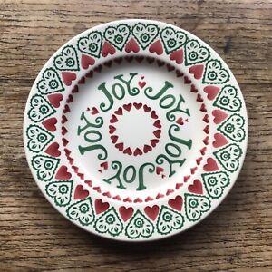 Emma Bridgewater 8.5 inch Side Plate Christmas Joy Sampler  2012 New