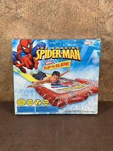 Marvel Spiderman Slip 'n Slide Wham-O Water 16 ft Game From 2006