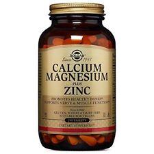 Solgar Calcium Magnesium Plus Zinc Tablets - 250 tablets