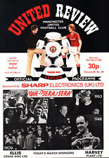 1982/83 Manchester United v Everton, FA Cup, PERFECT CONDITION