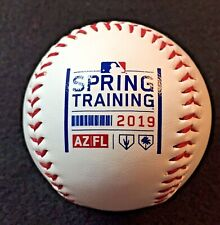 2019 MLB Rawlings Spring Training Logo Ball featuring AZ & FL Logos