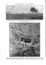 WWI Hurtebise Lance-Flammes Caverne du Dragon Chemin des Dames ILLUSTRATION