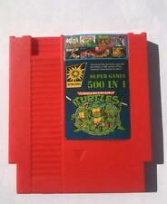 500 in 1 Nes Game Cartridge Video Game Multi 72 pin 8 bit Super Games Turtles