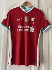 Mens Nike Lfc Liverpool Football Club Jersey Shirt Top Size Small Home Kit 20/21