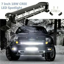 7 inch Ultra Slim LED Light Bar 18W 6500K Driving Lamp for Car SUV Truck Jeep US
