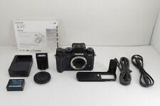 FUJIFILM X-T1 16.3MP Mirrorless Digital SLR Camera Black Body w/ MHG-X #191122l