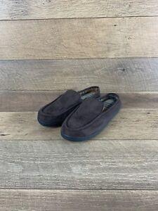 Isotoner Memory Step Foam Brown Clog Indoor/Outdoor Slipper Men's 9.5 - 10.5 US
