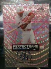 2016 Leaf Metal Perfect Game Royce Lewis Pink Etched Auto Autograph #06/07
