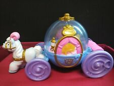 Fisher Price Little People Princess Cinderella & Coach Music Carriage / Lights