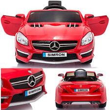 Mercedes SL63 AMG Véhicule Voiture électrique Enfant Télecommandé 2xMT 12V rouge