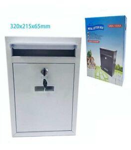 Cassetta Postale in Alluminio Porta Lettere Chiave Buca Posta Mbk-1006a idea