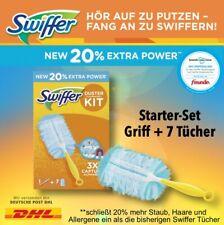 Swiffer Staubmagnet Starterset mit 1 Griff + 7 Tücher