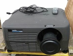 Christie DS+8K 3-Chip DLP SXGA+ Digital Projector w/ remote