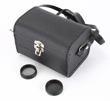 SOLIGOR CASE ONLY FOR A 500/8 MIRROR LENS + TWO ND FILTERS/211746