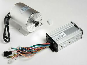 800W 36V Brushless BOMA BLDC GoKart motor BM1024+30A Speed controller w reverse