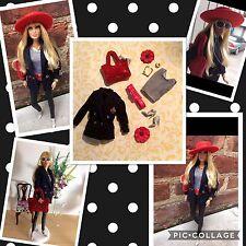 BARBIE,doll,SILKSTONE,MUSE,FASHIONISTA FASHION,Ralph Lauren blazer,classic,new
