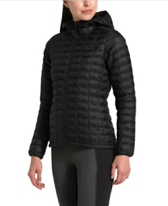 The North Face Thermoball Eco Hoodie Jacket - Black - Womens - Small