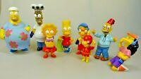 Simpsons 8 Figuren 2001 Homer Chef Grandpa Bart Otto Lisa Radioactive Milhouse