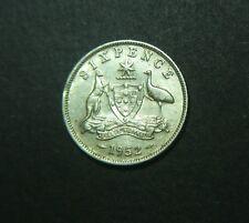 1952 Australian Sixpence, 6d
