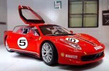 1:24 ECHELLE ROUGE 26302 Ferrari 458 défi 2010 Italie Berlinetta V8