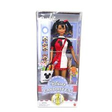 Barbie Disney Favorites Theme Park Exclusive African American Doll 2000
