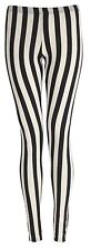 WOMENS MULTI PRINT FULL LENGTH LADIES STRETCH LEGGINGS PANTS PLUS SIZE 8 - 26