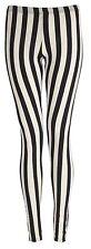 Longitud completa de impresión de múltiples para Mujer Damas Elastizadas Leggings Pantalones Talla Grande 8 - 26