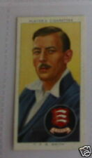 #26 T P B Smith Essex Cricket tarjeta deportiva