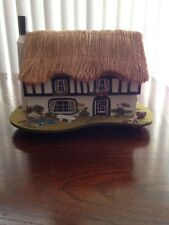 English Cottage Reuge Music Box by Pauline Ralph