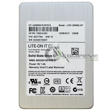 """LiteOn 128GB 2.5"""" SATA SSD Solid State Drive LCS-128M6S-HP 735313-001 69022"""