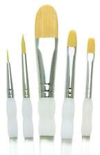 5 Soft Grip artista pennello Set Round Shader Wash Royal Langnickel SG301